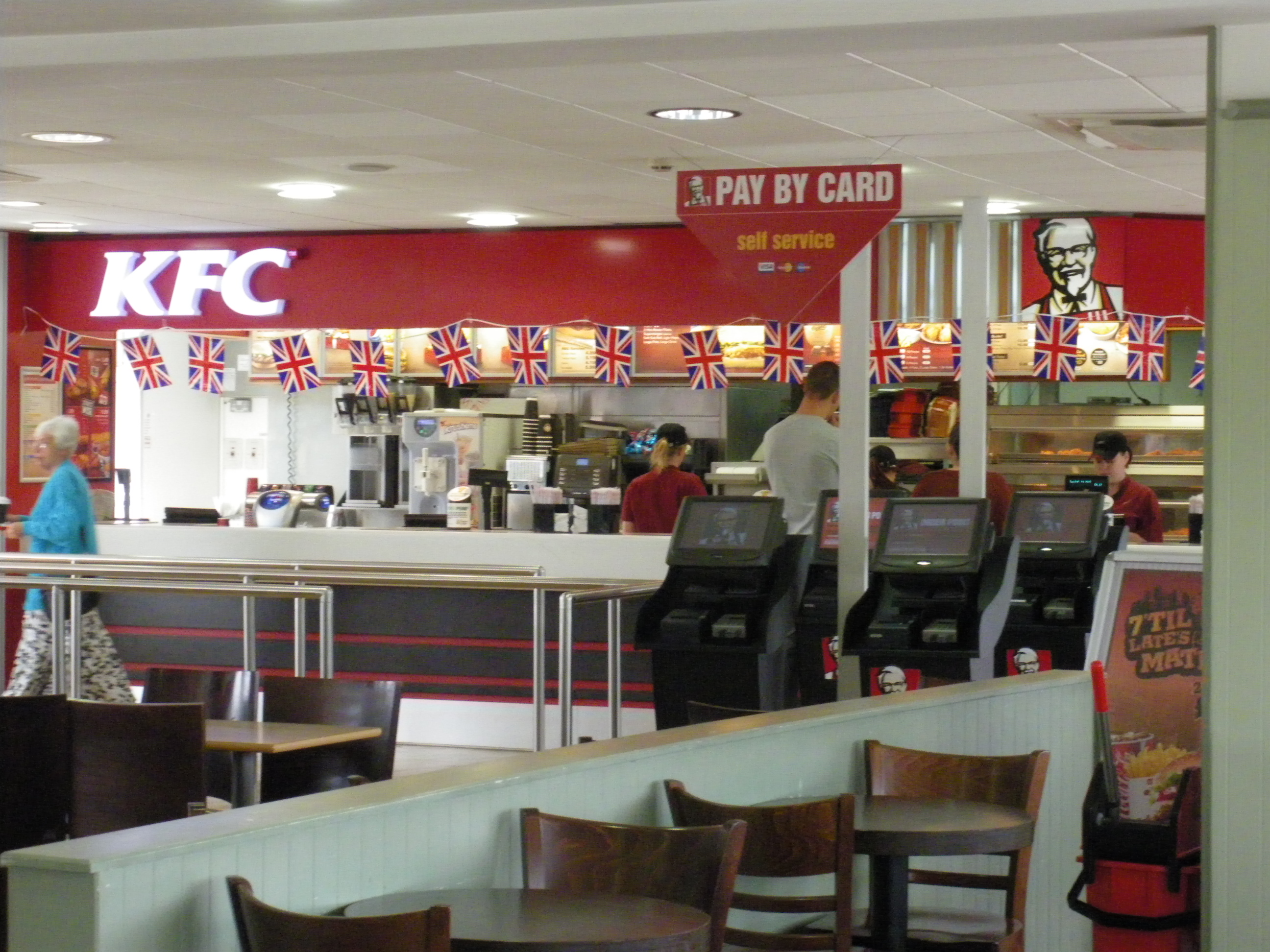 kfc services Kfc's other offers include chicken wraps, sandwiches, salads, roasted and grilled chicken cuisines and dessertsso more people in this word like to prefer kfc because of their health food better than mcd,it not means that kfc is a health food but in others statement that mcd have lack of health food compare to the kfc.
