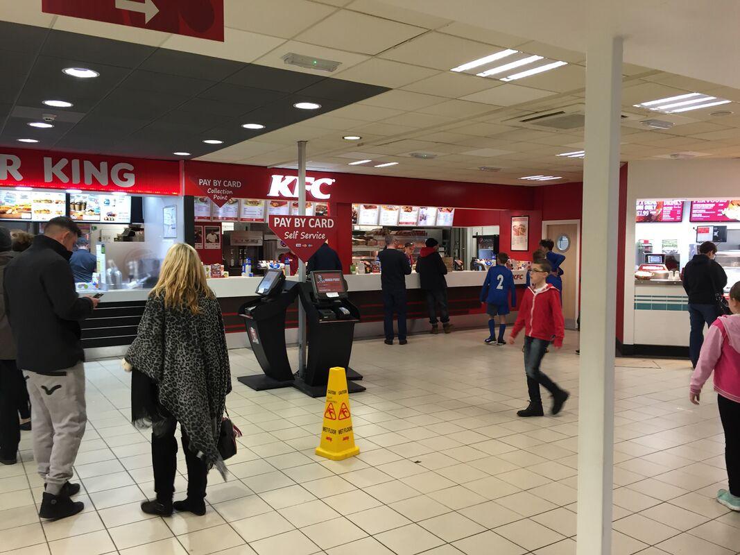 KFC Motorway Services KFC service station info