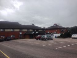 Exeter services hotel.