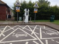electric vehicle charging points motorway services category electric vehicle charging point. Black Bedroom Furniture Sets. Home Design Ideas