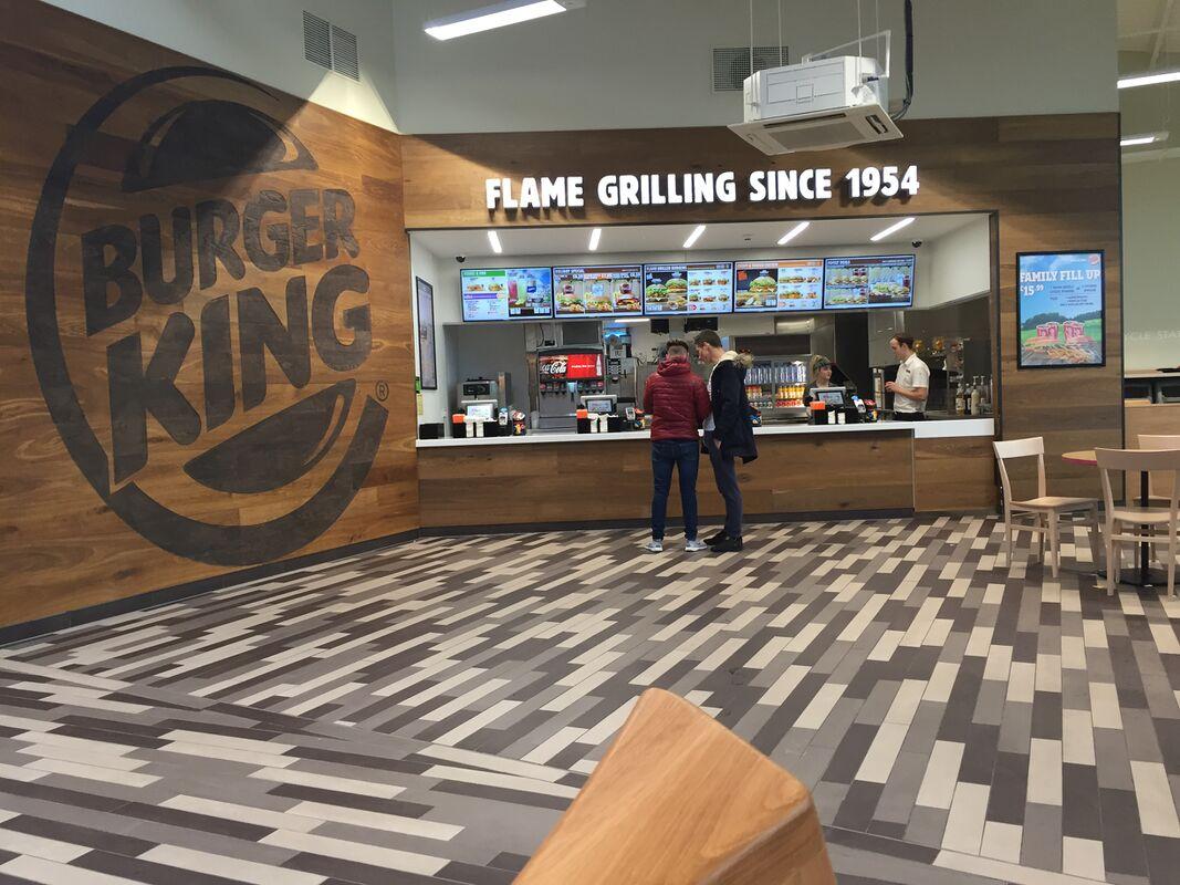 Burger King Motorway Services Burger King Service